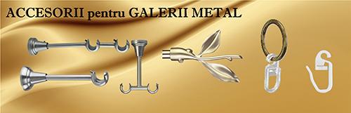 Accesorii pentru gallerii metal