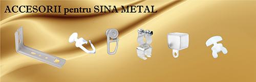 Accesorii pentru sina metal
