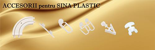 Accesorii pentru sina plastic