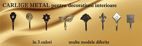 Carlige metal pentru decoratiuni interioare