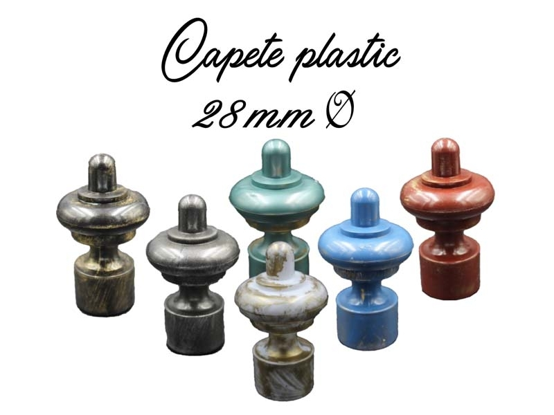 28 mm Ø capete plastic INNOVATIE