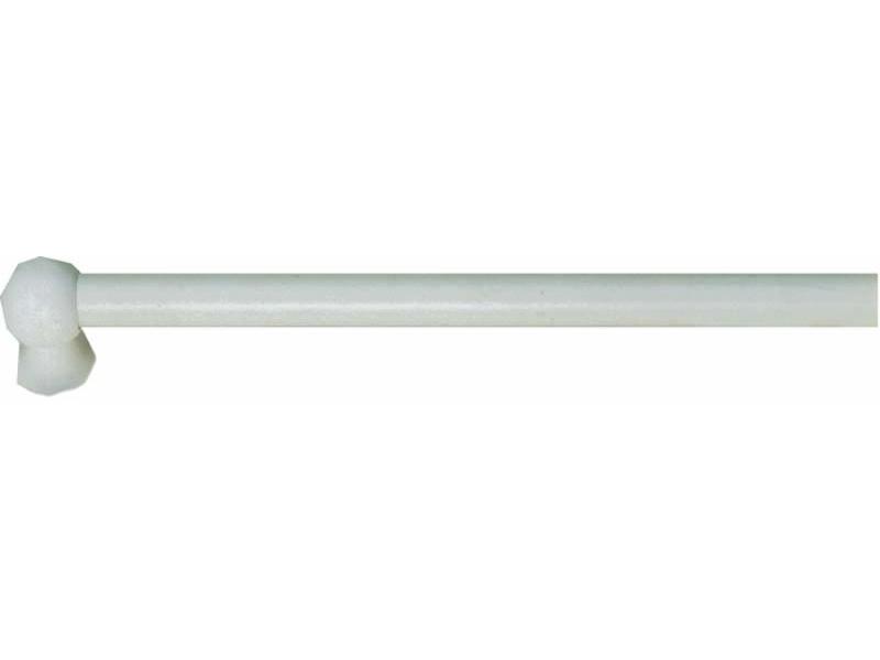 Bara perdeluta PION SAH 12 mm Ø lemn, alb