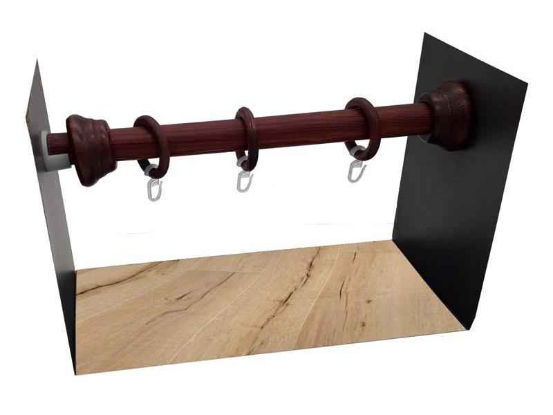 galerie 28 mm  PERETE-PERETE lemn mahon