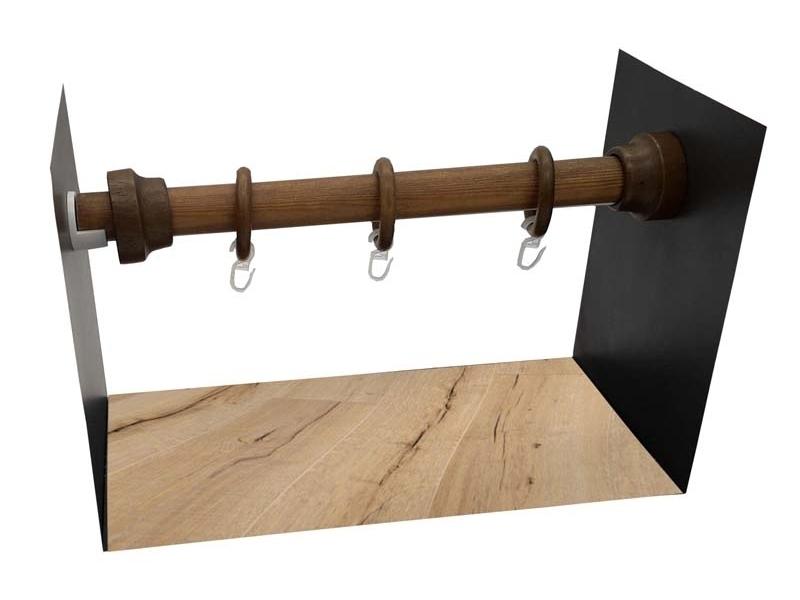 galerie 28 mm  PERETE-PERETE lemn nuc
