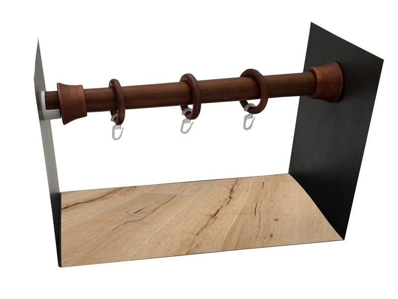 galerie 28 mm  PERETE-PERETE lemn tek
