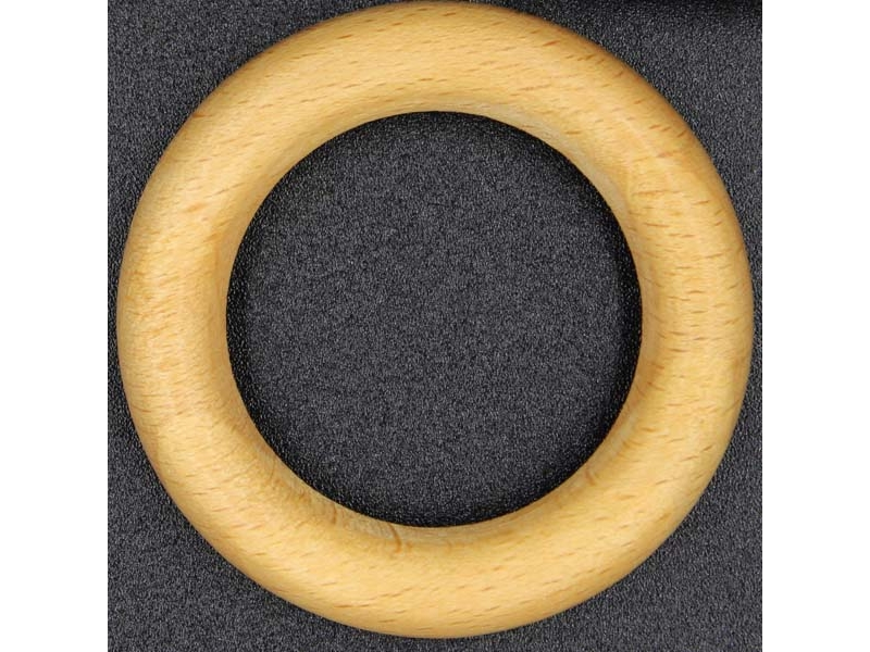 Inel 27 x 38 mm lemn natur