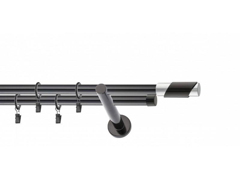 LA MASURA - galerie 19 mm Ø FRANTA, capete MARSEILLE în 2 culori, simpla si dubla