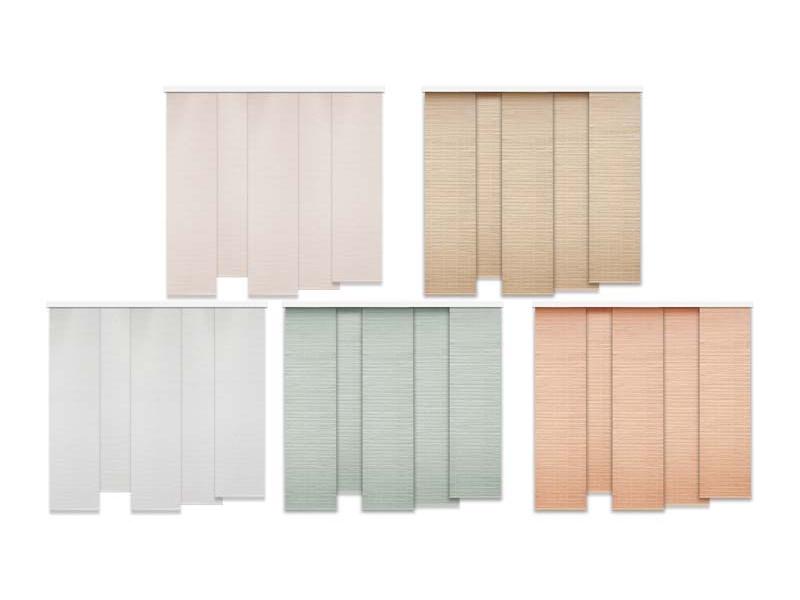 Materiale textile pentru Perdele Japoneze 1171 buc, diverse culori