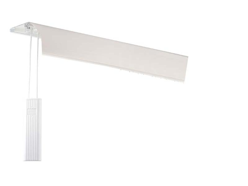 Sina Aluminiu ALANYA cu masca - 3 culori - 2-canale si 3-canale - inaltime profil senzational 7 mm - cu snur pentru tragere