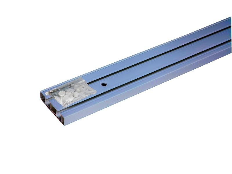 Sina-PVC, MÜNCHEN cu accesorii, 2-canale, crom-mat