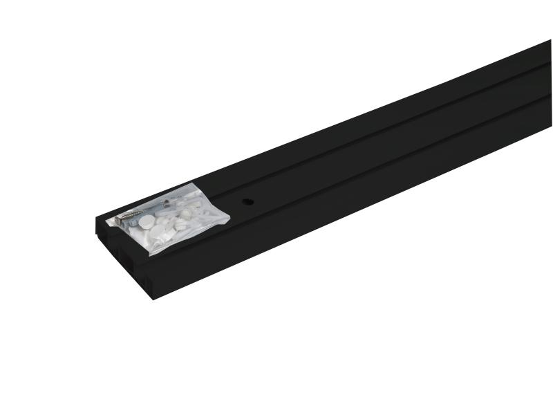 Sina-PVC, MÜNCHEN cu accesorii, 2-canale, negru