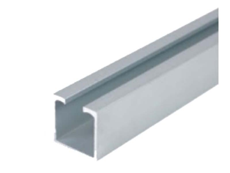 Sina PVC MALAGA SIMPLU 1-canal, alb