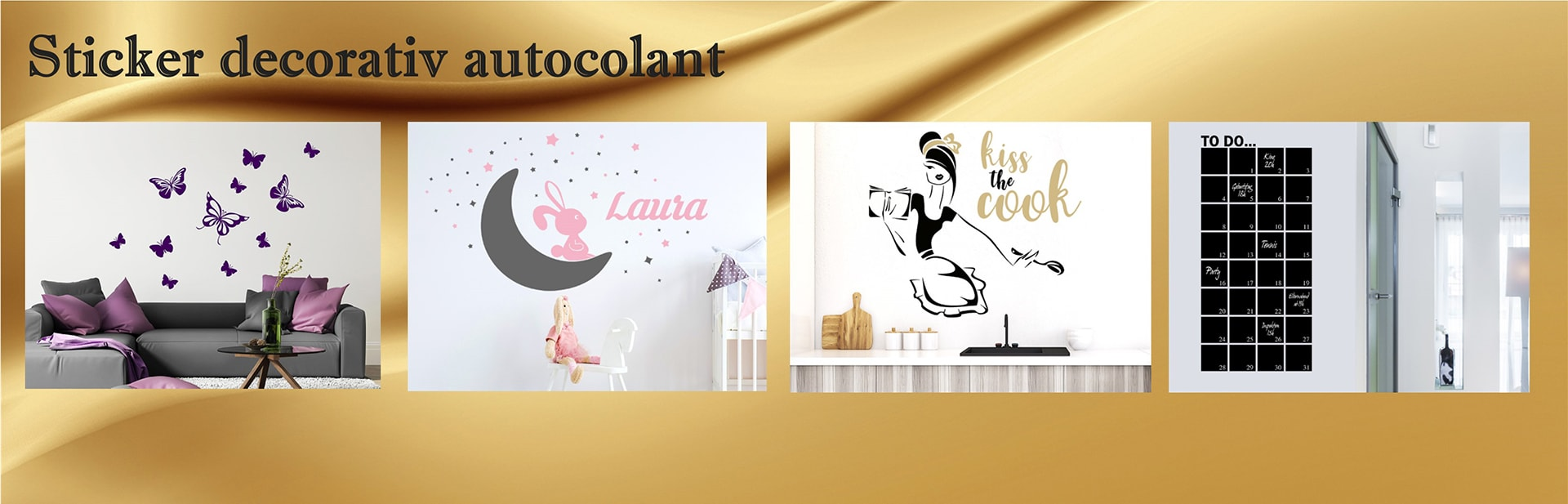 Sticker decoratiuni autocolant
